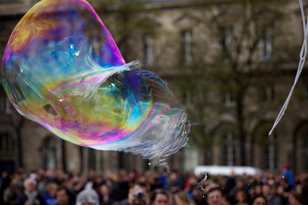 De content bubbel gaat barsten